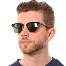 Load image into Gallery viewer, Classic Semi-Rimless Sunglasses