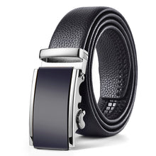 Load image into Gallery viewer, Genuine Leather Men's Simple Belt