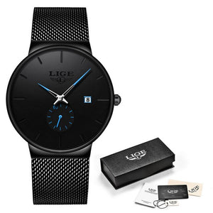 2020 LIGE Quartz Watch