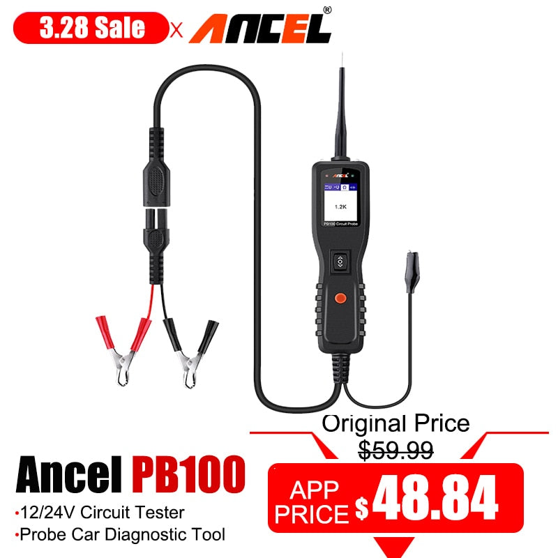 Ancel Circuit Tester Power Probe Automotive Diagnostic Tool