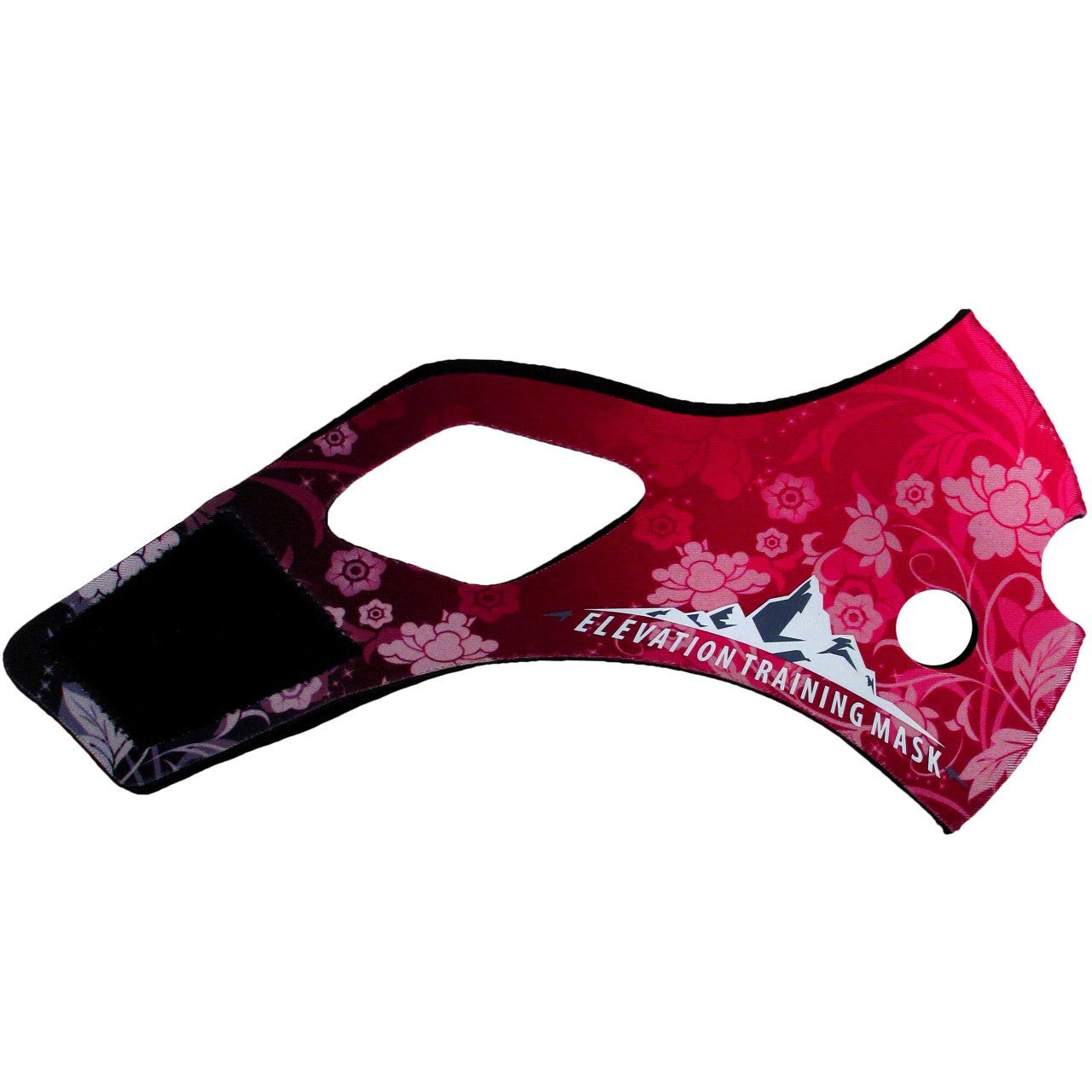Training Mask 2.0 Dark Pink Floral Sleeve