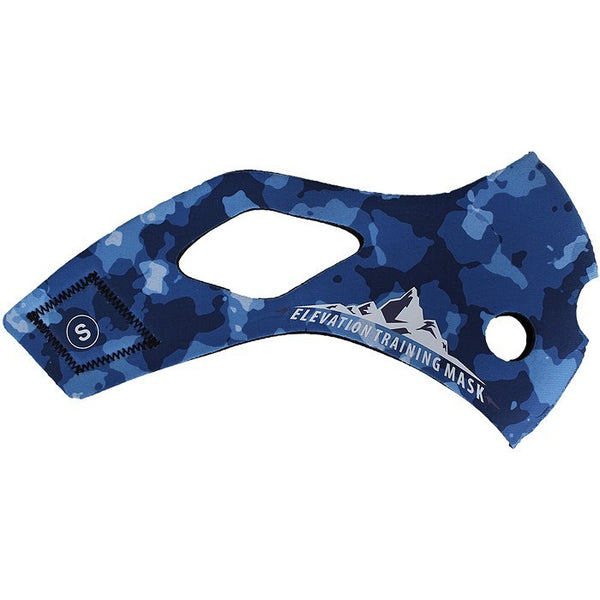 Training Mask 2.0 Blue Camo Sleeve