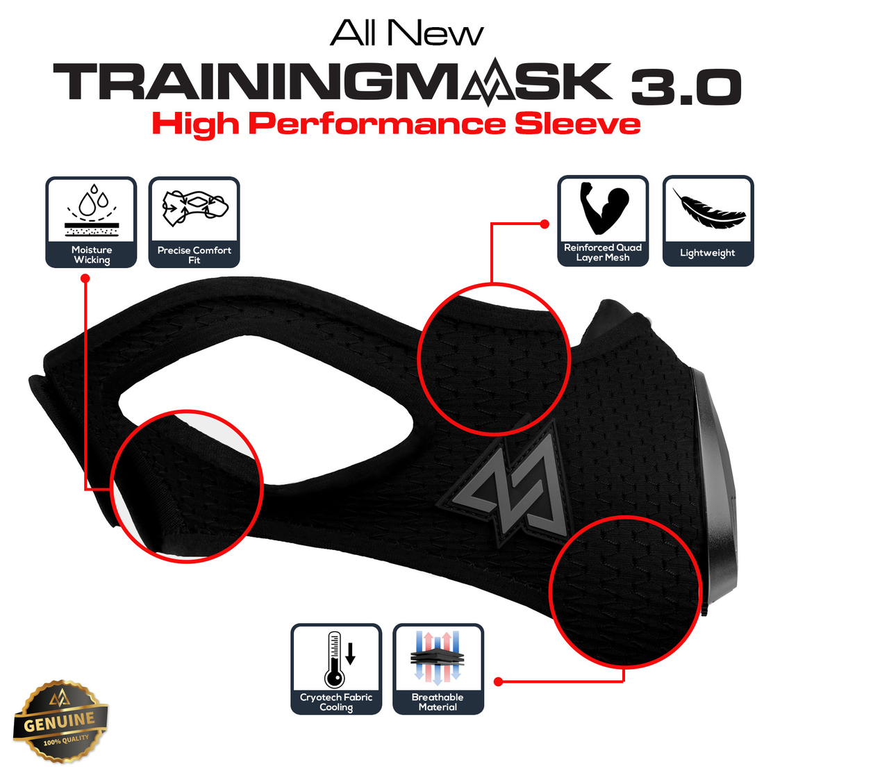 Training Mask 3.0 Insane Sleeve