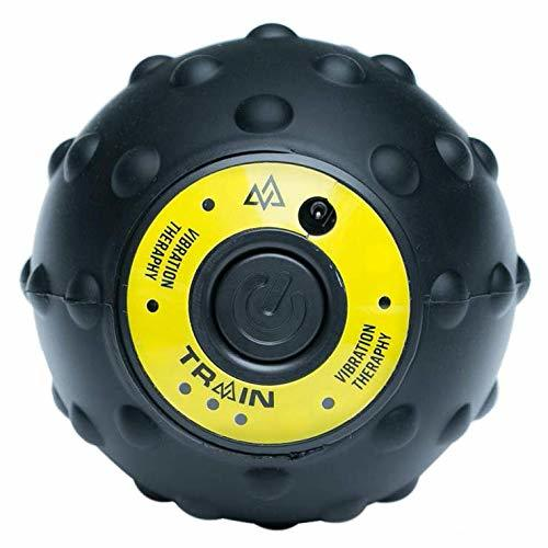 Training Mask - ViberOrb 360 Pulse Percussion Massage Ball [Black/Yellow]