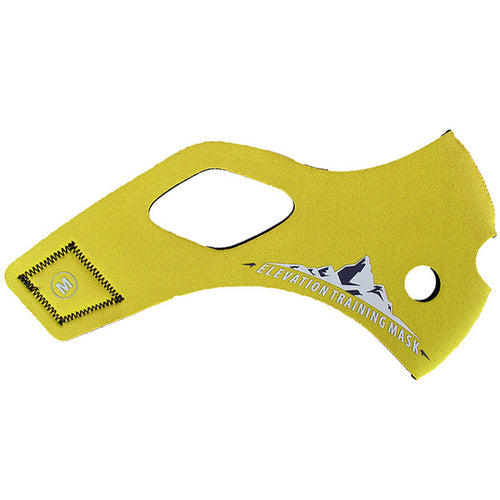Training Mask 2.0 Solid Yellow Sleeve