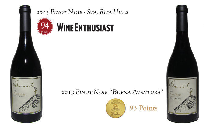 94 Points Wine Enthusiast - 93 Points Gold San Francisco International Wine Competition