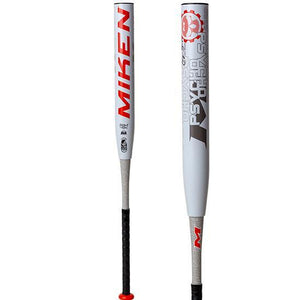"2020 MIKEN PYSCHO 14"" 2 PIECE SLO-PITCH SOFTBALL BAT"