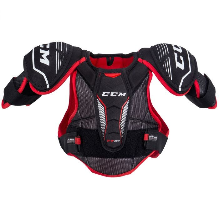 CCM JETSPEED FT350 JUNIOR SHOULDER PADS