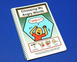 Choosing My Angry Words - PECS Autism Social Skills Story Therapy Book