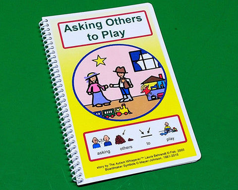 Asking Others to Play - Autism Social Skills Story PECS