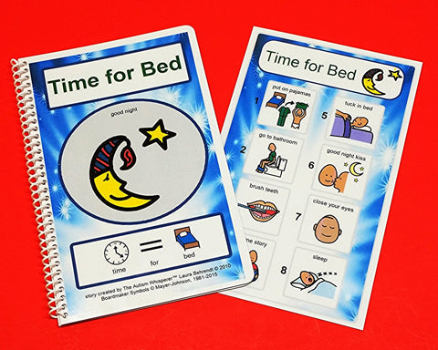 Time for Bed - Autism Life Skills PECS Storybook