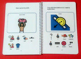 Dressing Myself - Girl PECS Book Schedule Board Autism
