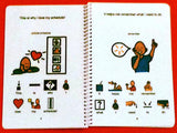 I Use My Schedule - Autism Social Skills Story - PECS - Visual and Social Therapy Book