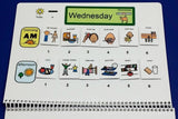 PECS Weekly Planner Schedule Kit - Autism Visual Schedule and Planner