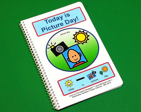 Today is Picture Day - PECS Communication Book ABA Therapy - Autism Social Stories