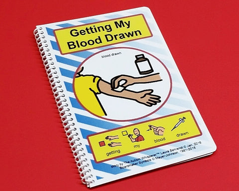Getting My Blood Drawn - Autism Social Skills Story - PECS - Visual Therapy Book