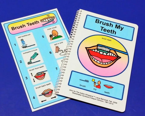Brush My Teeth - PECS Autism Social Life Skills Story!