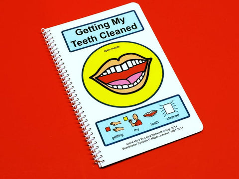 Getting My Teeth Cleaned - PECS Autism Social Skills Story Therapy Book