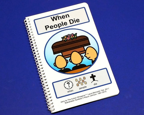 When People Die - PECS Autism Social Skills Story