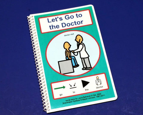 Let's Go to the Doctor - Autism Social Skills Story - PECS - ABA Picture Therapy