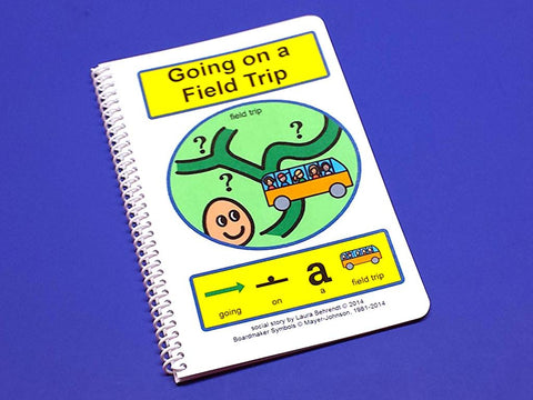 Going on a Field Trip - PECS Autism Social Skills Story Therapy Book