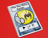 Itsy Bitsy Spider PECS Interactive Storybook Autism ABA