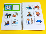 My PECS Mini PECS Book - Autism 40 Visual PECS Symbols!