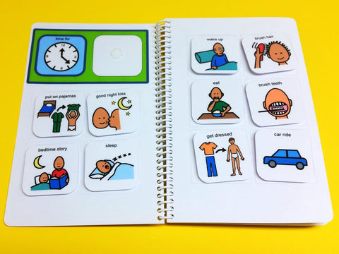 My PECS Mini PECS Book - Autism 40 Visual PECS Symbols! – The ...