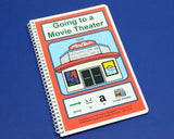 Going to a Movie Theater - Autism Social Story - Going to a Movie - PECS Visual Aid Learning Book