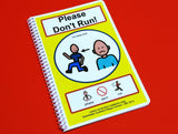 Please Don't Run - Autism Social Skills Story PECS