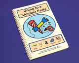 Going to a Slumber Party - PECS Autism Social Skills Story - Girls Social Skills Therapy Book