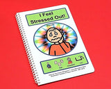 I Feel Stressed Out - Autism Social Story - PECS Autism Coping Skills for Meltdowns