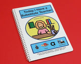 Today I Have a Substitute Teacher - PECS Autism Social Skills Story - NEW!!!
