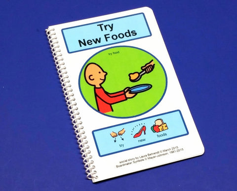 Try New Foods - PECS Autism Social Skills Story! Food Aversion