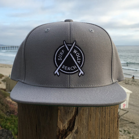 Surf Wolly Beach Hat, Emblem