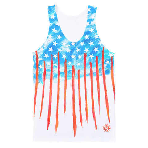 America All-Over, Unisex Tank