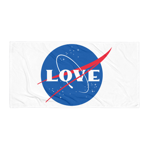SPACE LOVE TOWEL