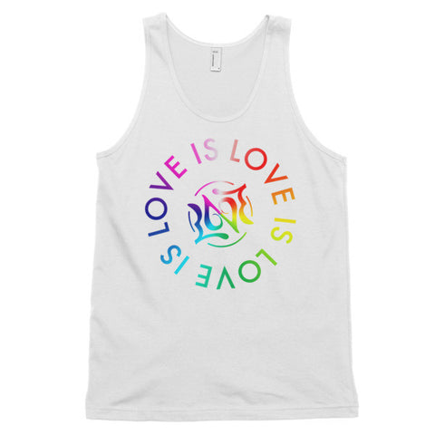 Love is Love, Unisex Tank 6-Colors