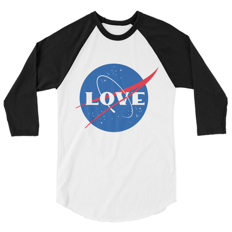 Space Love Raglan