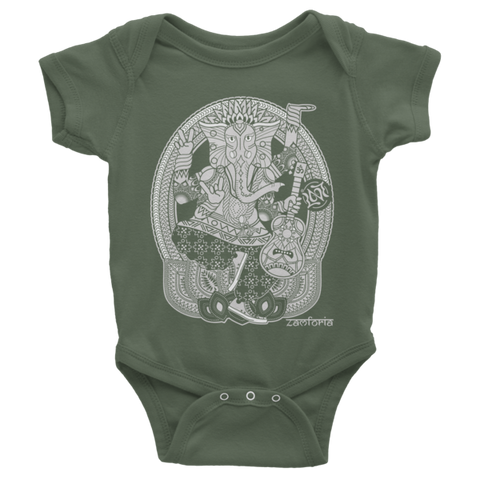 Ganesh, Baby Onesie 4-Colors
