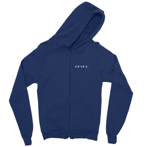 Love in Italian, Navy Zipper