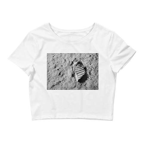 Moonwalk Crop Tee