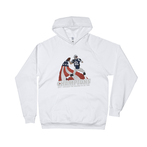 Generation of Champions, White Hoodie
