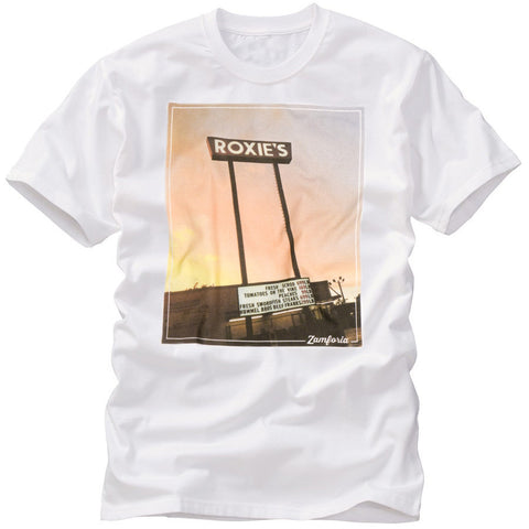 Roxie's Sunrise Tee, White