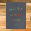 12x16 Surf Wolly Poster, Breeze