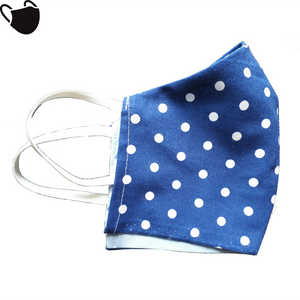 Blue Dark Polka Dots - Polka Dots Edition