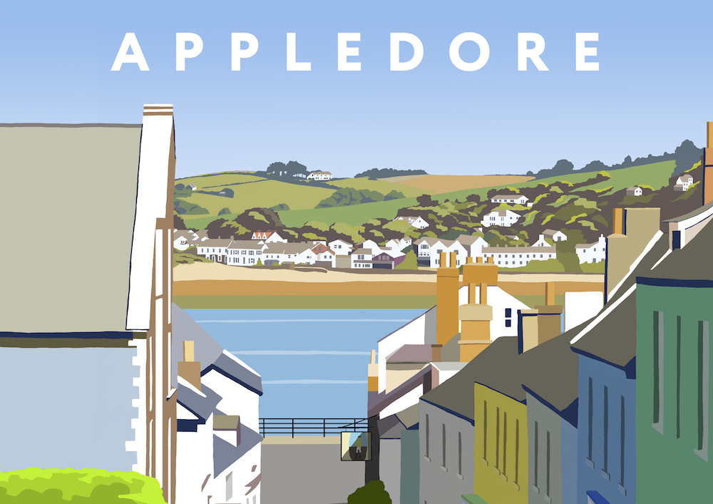 Appledore Art Print