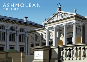 Ashmolean Oxford Art Print