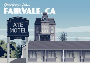 Greetings from Fairvale, California Art Print (Day)