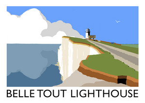 Belle Tout Lighthouse Art Print